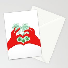 Weed Love Stationery Cards
