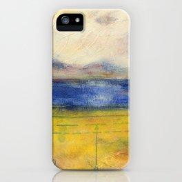 Blue Lake No. 1 iPhone Case