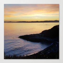 Sunset Paradise Canvas Print