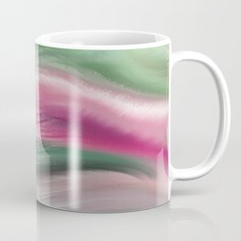 Modern abstract background or texture with flowing wavy lines Coffee Mug
