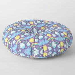 Happy water spirits Floor Pillow