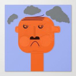 Unsatisfied Customer Three Canvas Print