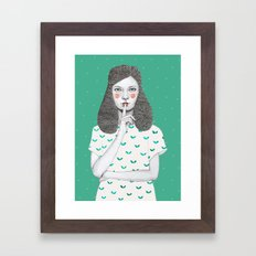 Lorena Framed Art Print