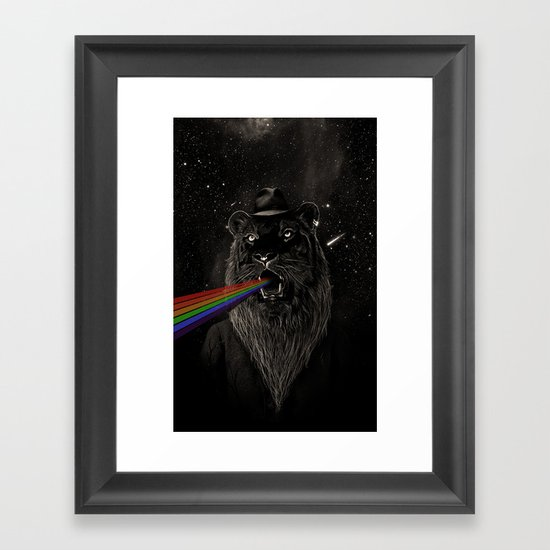 Call of the Wild Night II Framed Art Print