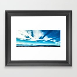 NORTH FRONT RANGE Framed Art Print