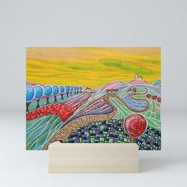 The Golden Sky Mini Art Print
