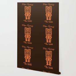 Tiki Hotel Logo Wallpaper