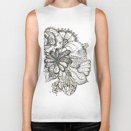 20. Flower WORLD with Henna  Biker Tank