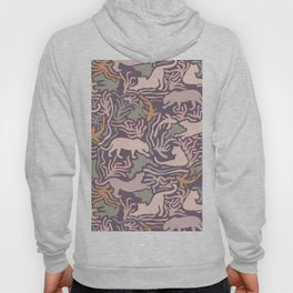 Big Cats and Fishes Hoody
