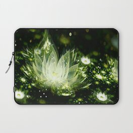 3D Lotus Flower Laptop Sleeve