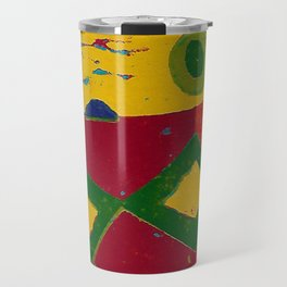 Reduction in colour Travel Mug