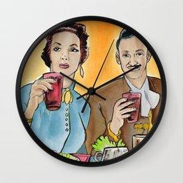 Buen Provecho Wall Clock
