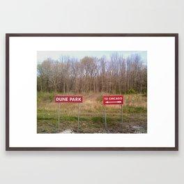 Choices Framed Art Print