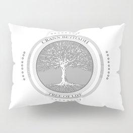 Tree of life (white) Pillow Sham