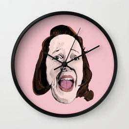 Crazy Annie Wilkes - Misery (Pink) Wall Clock