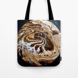 Brown tornado Tote Bag
