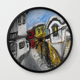 Old Plovdiv Wall Clock