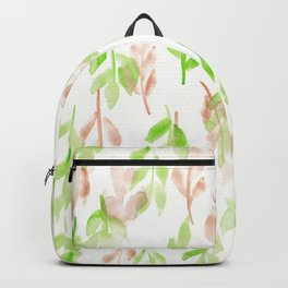 180726 Abstract Leaves Botanical 26 |Botanical Illustrations Backpack