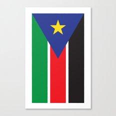 South Sudan Canvas Print