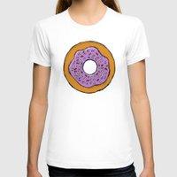 doughnut T-shirts featuring doughnut by AWOwens