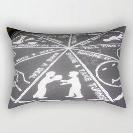 Life Lessons Rectangular Pillow