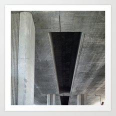 substructure Art Print