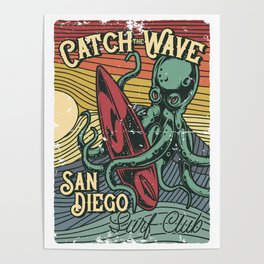 Catch the Wave Poster