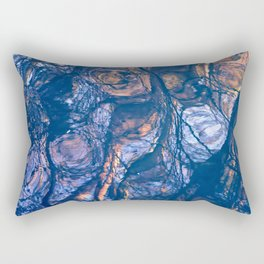 water is an artist II Rectangular Pillow