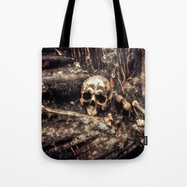 Bones In The Forest Tote Bag