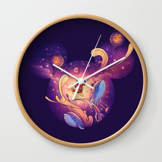 Beyond Your Imagination Wall Clock
