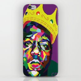 The Notorious B.I.G. iPhone Skin