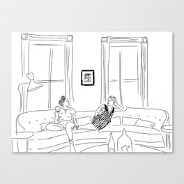 Mae & Rachel  Canvas Print