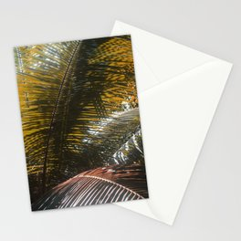 Into the Seychellian leaves Stationery Cards