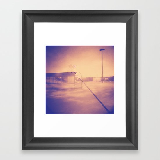 Free Parking  Framed Art Print