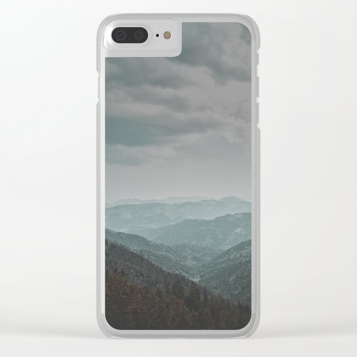 Wander forever my love (nature) Clear iPhone Case