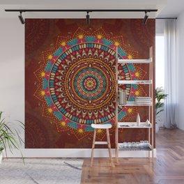 Crystalline Harmonics - Tribal Wall Mural