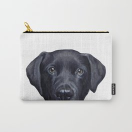 Lablador Dog illustration original painting print Carry-All Pouch