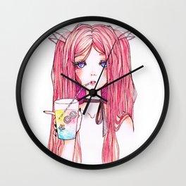 Unicorn Milk Wall Clock