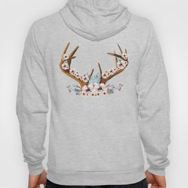 The Stag Fall Florals Hoody