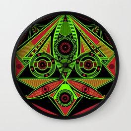 The third eye (Black) Wall Clock