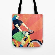 Summer Riding Tote Bag