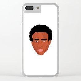 Gambino Clear iPhone Case
