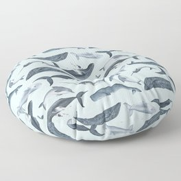whale tales Floor Pillow
