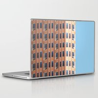 building Laptop & iPad Skins featuring Building to Building: Church by theartistmakena