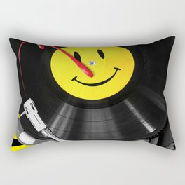 """Bloody Turntable"" Watchmen fan art Rectangular Pillow"
