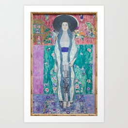 Gustav Klimt Adèle Bloch Bauer II (1912) Art Print
