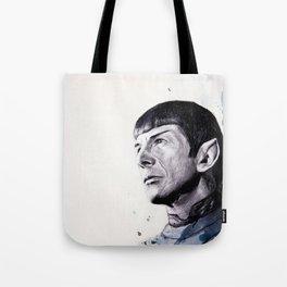 Goodbye Mr. Spock - Leonard Nimoy Tote Bag