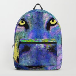 WOLF IN THE GARDEN Backpack