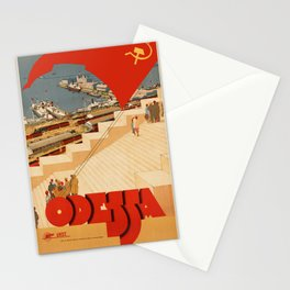 Vintage poster - Odessa Stationery Cards