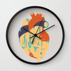 Heart:Released Wall Clock